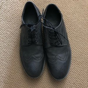 Marc Anthony Gray Wingtip Oxford shoes mens 12m